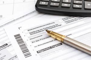 Einkommensteuererklärung für das Finanzamt